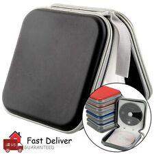 40 Disc CD DVD Organizer Storage Case Hard Album Holder Box Portable Black US
