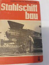 lehrbuch berufsausbildung stahlschiffbau verlag Technik Helling Risse Spanten
