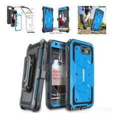Pro Case Plus Screen Protector Blue For Galaxy J3 Emerge /Prime/Express Prime 2