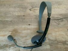Official Microsoft Xbox 360 Chat Headset Mic Black Grey Live Gaming Headphones