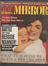 TV Radio Mirror April 1962 Jackie Kennedy Michael Landon Judy Garland