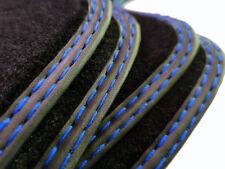 Fußmatten BMW M1 1er Original Qualität Velours Automatten Metal Logo F20
