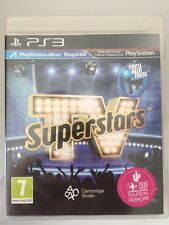 TV SUPERSTARS PS3 MOVE NEUF