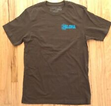 Patagonia Men's Size  Small Organic Cotton Short Sleeve T-Shirt color Brown