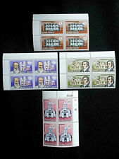 Samoa 1970 Independence Anniversary SG337-340 MNH corner blocks of 4