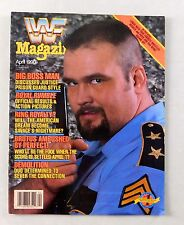 The Big Boss Man April 1990 WWF Wrestling Magazine Raw WWE WCW
