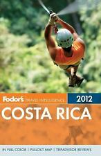 Fodor's Costa Rica 2012 (Full-color Travel Guide), Fodor's, Good Condition, Book