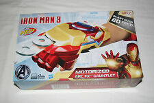 2013 Hasbro/Nerf Iron Man 3 - Motorized ARC Fx Firing Wrist Guantlet - Roleplay