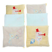 6PCs Baby Crib Bumper Cotton Infant Bed Cot Protector Musical