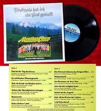 LP Menskes Chöre: Einstmals hab ich ein Lied gewußt (Teldec 626 748 AP) D 1988