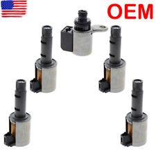 5pcs OEM RE0F11A JF015E CVT Transmission Solenoid Nissan Note Sentra Value Body