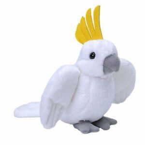 "Wild Republic Pocketkins Cockatoo 5"" Soft Plush Toy"