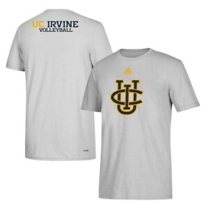 UC Irvine Anteaters NCAA Adidas Men's Grey Volleyball Climalite T-Shirt