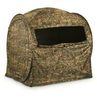 GUIDE GEAR Shooting Hunting Blind Hay Bale Large Window Backpack Carry Case