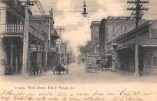 Baton Rouge Louisiana Third Street Vintage Postcard AA45453