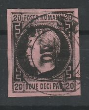 AA.389-Romania stamps,1august 1866,Prince Carol,thick wove paper, 20par,TYPE B