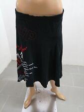 Gonna DESIGUAL Donna Taglia Size L Skirt Woman Jupe Femme p 7211