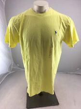 NWT Polo Ralph Lauren STANDARD FIT CREWNECK Big Horse Logo T Shirt Summer Yellow