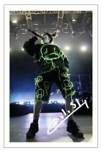 Billie Eilish Signed 6X4 Autograph  Photo Print Music Pop Singer BAD GUY