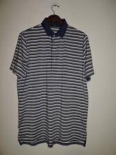 Polo Ralph Lauren RLX Golf Polo Shirt  Striped Edgewood Tahoe