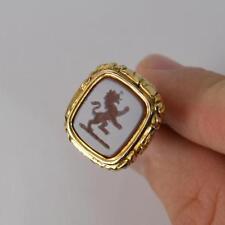 9 Carat Agate Pendant/Locket Victorian Fine Jewellery