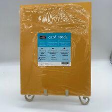 Stampin Up 8 1/2 x 11 Cardstock Marigold Morning  - 18 sheets