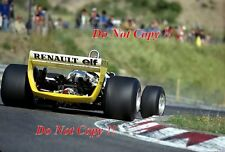 Jean-Pierre JABOUILLE RENAULT RS10 Olandese GRAND PRIX 1979 fotografia 2