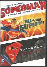 Movie DVD - ALL STAR SUPERMAN/SUPERMAN DOOMSDAY - Pre-Owned - Warner Brothers