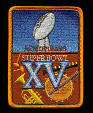 SUPER BOWL 15  RAIDERS vs EAGLES Willabee & Ward OFFICIAL NFL SB XV ~ PATCH ONLY