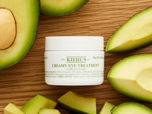 Kiehl's Creamy Eye Treatment with Avocado Oil. Full Size 14g  NEW