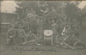 Foto AK K. W. A. IV Küstenwehrabteilung Cuxhaven Militärmusik Sennelager 1923