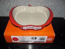 Le Creuset Red Apple Tarte Tatin Baking Dish/Pie Pan 2 Qt 22 CM Cast Iron