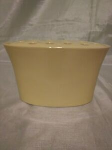 """Exquisite Yellow Southern LIving At Home Ceramic """"Oval Easy Arrange It Vase"""""""