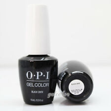 OPI GelColor LED Gel Nail Polish Black Color 15ml 0.5 fl oz Black Onyx #GCT02