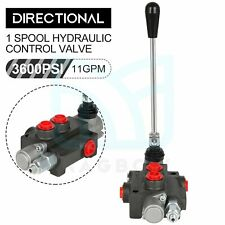 1 Spool Hydraulic Control Valve 11gpm Double Actingtractor Loader With Joystick