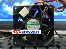 For SUNON PF70251VX-Q000-S99 fan DC12V 3.7W 70*70*25mm 4pin PWM