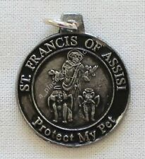 NEW St. Francis of Assisi Protect My Pet Amulet