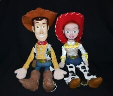 Disney Pixar Toy Story Woody And Jessie Large Plushes  54cm & 46cm