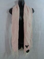 Charter Club Women's Pink Floral Cashmere Muffler Scarf One Size NWT