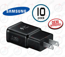Samsung Oem Ep-Ta200 Wall Charger Adapter Fast Quick Charge Qc 3.0 Black 10 Pack