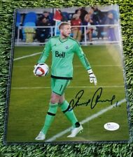 DAVID OUSTED SIGNED 8X10  D.C. UNITED FOOTBALL CLUB ACTION PHOTO JSA/COA R83276