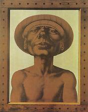 "Rudolf Hausner ""Adam in bescheidenem Rahmen"""