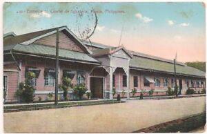 Postcard Infantry Barracks, Cuartel de Infanteria Manila Philippines, Bayonne NJ