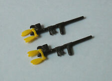 VTG Playmobil Lot of Indian Accessories ~ 2 Peace Pipes w/ Yellow Feathers