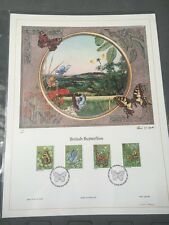 G.B FDC British Butterflies Lithograph - London SW 13/05/81 - Ltd Edition