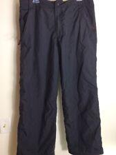 Obermeyer Mens Ski Pants Sz L Black Insulated