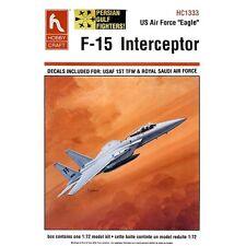 HobbyCraft 1333 F15 Interceptor US Air Force Eagle 1/72 scale plastic model