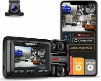 Rexing W303 3-Channel Front, Cabin Rear Back Up Triple Dash Cam 1080p+720p+720p