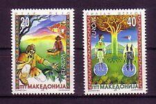 Makedonien 1997  - Michelnr 102 - 103 postfrisch (Sagen : 2184)