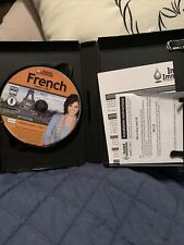 Instant Immersion French Levels 1, 2 & 3 3-Disc Set Pc & Mac Computer Software